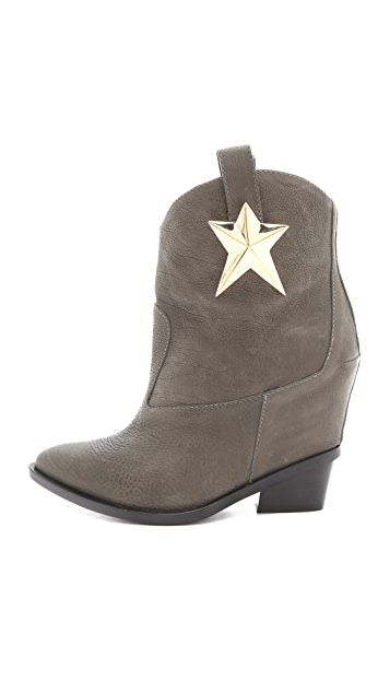 Giuseppe Zanotti Boots with Star Detail