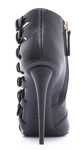 Giuseppe Zanotti Multi Buckle Sandals