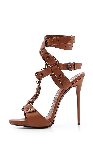 Giuseppe Zanotti Wraparound Strap Heels