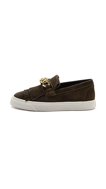Giuseppe Zanotti London Suede Moc Sneakers