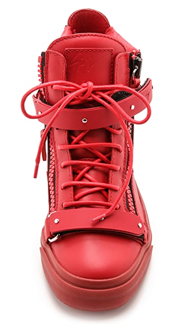 Giuseppe Zanotti Zipper London Sneakers