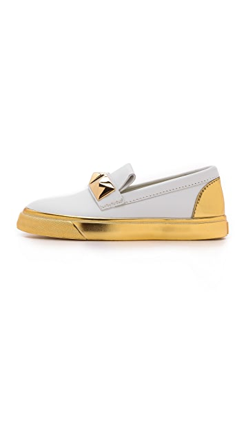 Giuseppe Zanotti Loafer Accent Sneakers