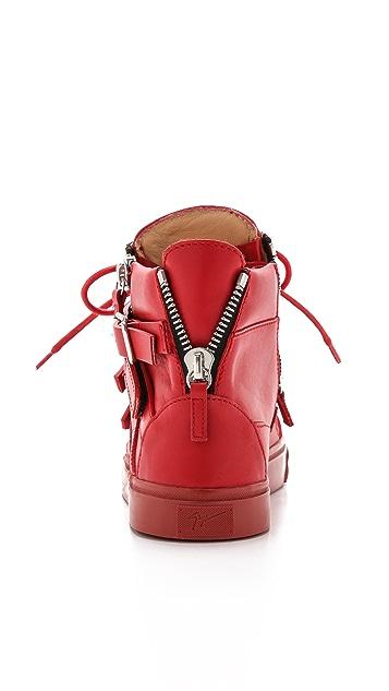 Giuseppe Zanotti Strappy London Sneakers