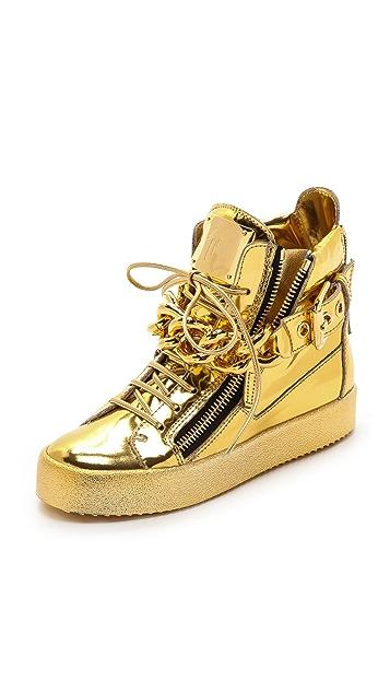 Giuseppe Zanotti London Zip Sneakers