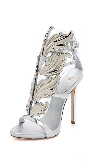 shopping special section exclusive deals Giuseppe Zanotti Metal Wing Sandals | SHOPBOP
