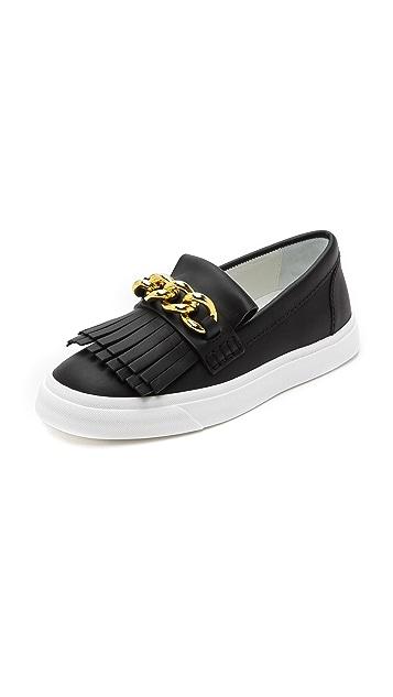 7e0403c87c14 Giuseppe Zanotti Fringed Loafer Sneakers