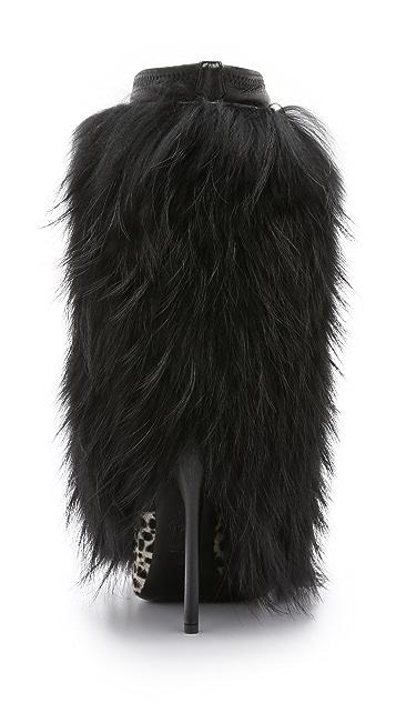 Giuseppe Zanotti Fur Boots