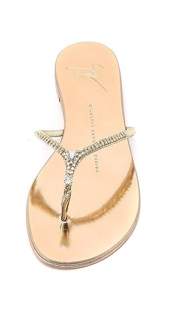Giuseppe Zanotti Embellished Sandals