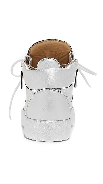 Giuseppe Zanotti Leather Sneakers