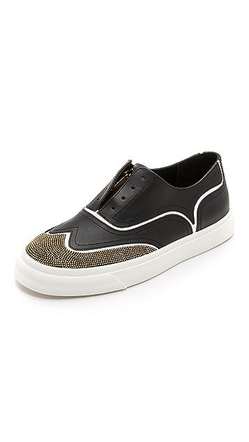 7f89d2228f62 Giuseppe Zanotti Studded Brogue Sneakers