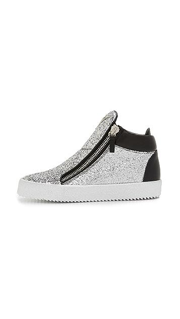Giuseppe Zanotti Glitter Sneakers