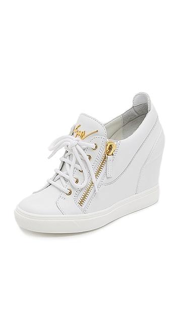 Giuseppe Zanotti Wedge Sneakers
