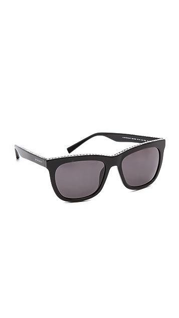 41f84049096b Givenchy Swarovski Crystal Rim Sunglasses