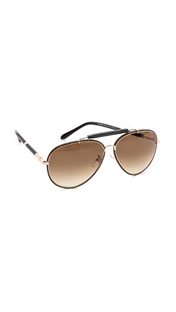 Givenchy Top Bar Aviators