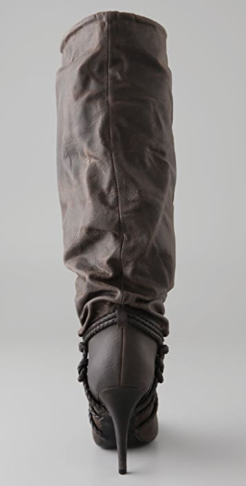 Givenchy Shoes Distressed Paper Bag Boots