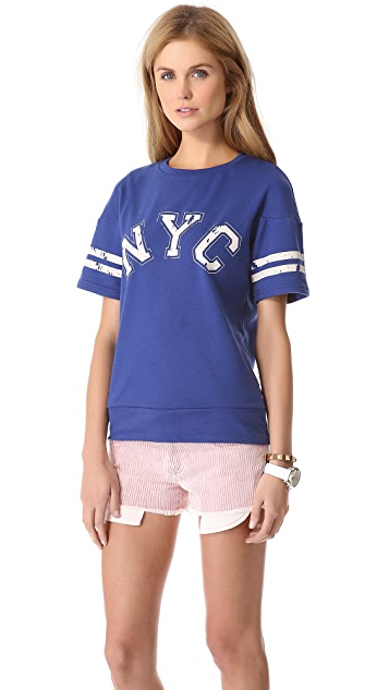Glamorous NYC Baseball Tee