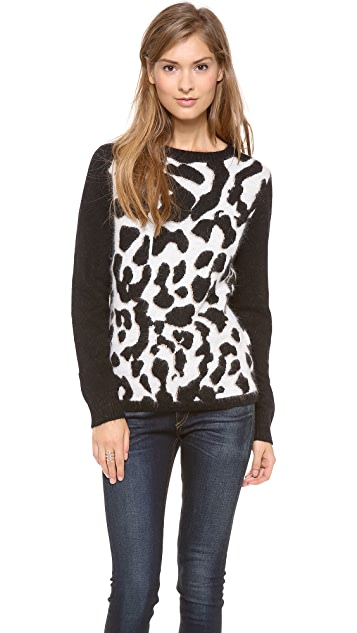 Glamorous Leopards, Oh My! Sweater