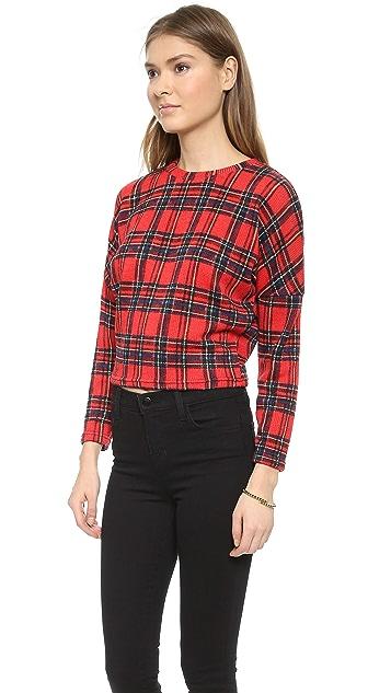 Glamorous Checked Sweater