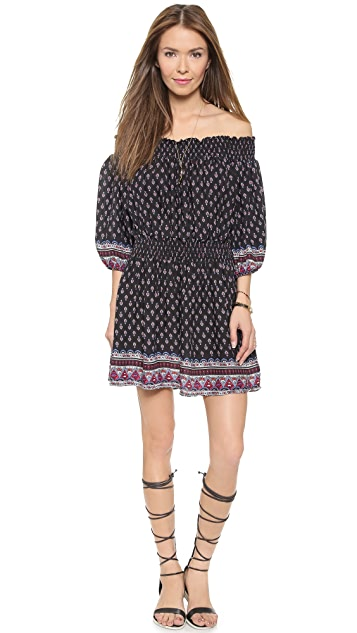 Glamorous Folk Off the Shoulder Mini Dress