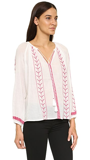 Glamorous Embroidered Blouse
