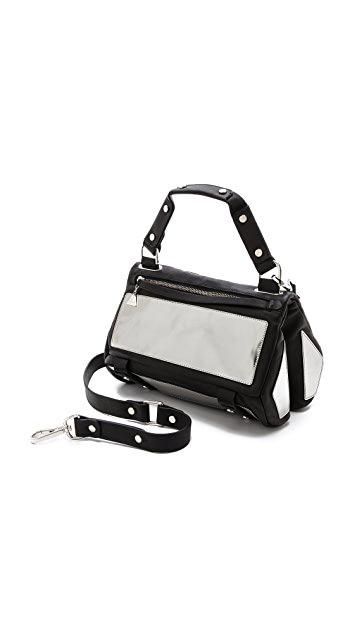 Golden Lane Small Patent Duo Satchel