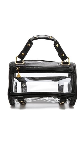 Golden Lane Beach Vinyl Duo Satchel