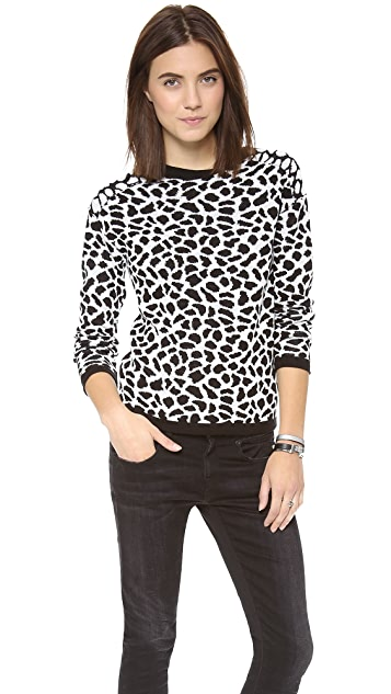Generation Love Leopard Sweater