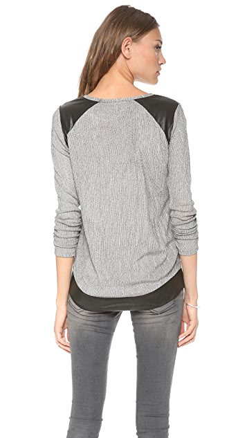 Generation Love Atticus Patch Sweater
