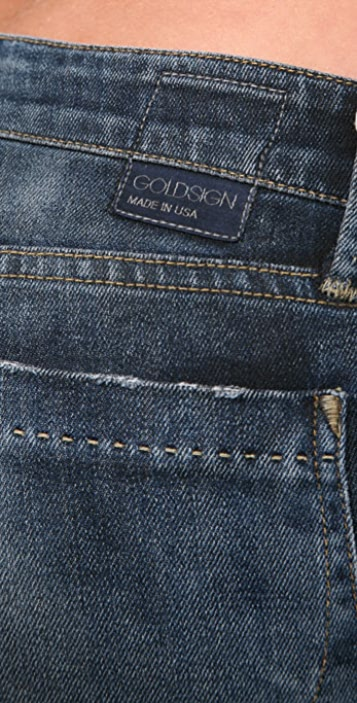 GOLDSIGN Desire Relaxed Flare Jeans