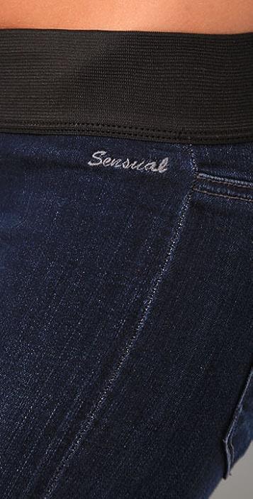 GOLDSIGN Sensual Boot Cut Jeans