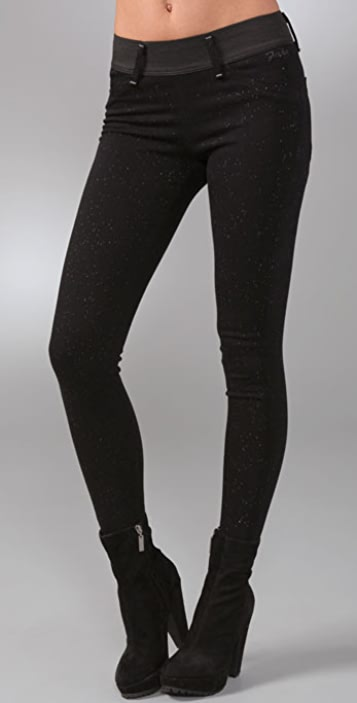 GOLDSIGN Fake Legging Jeans
