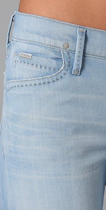 GOLDSIGN Fancy Wide Leg Jeans