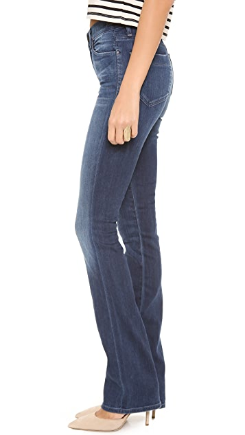 GOLDSIGN Quinn Slim Boot Cut Jeans