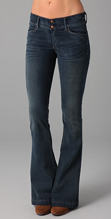 GOLDSIGN Sissi Platform Flare Jeans