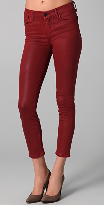 GOLDSIGN Thrill Ankle Skinny Jeans