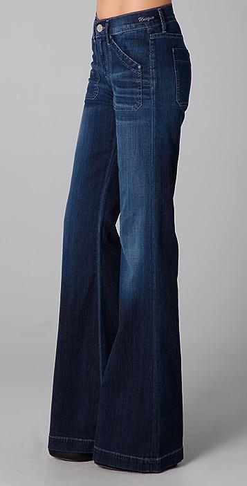 GOLDSIGN Unique Flare Jeans