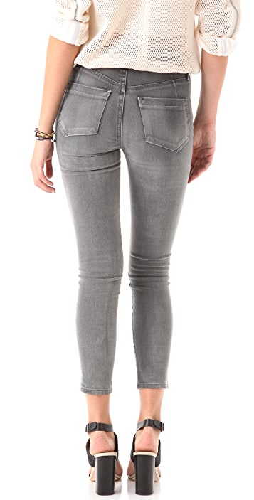GOLDSIGN Virtual High Rise Skinny Jeans