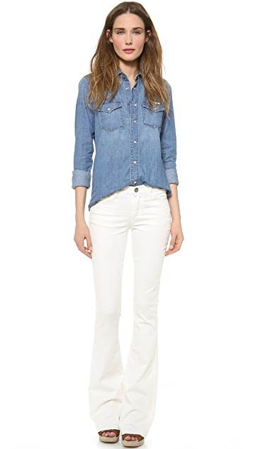GOLDSIGN Gower Boot Cut Jeans