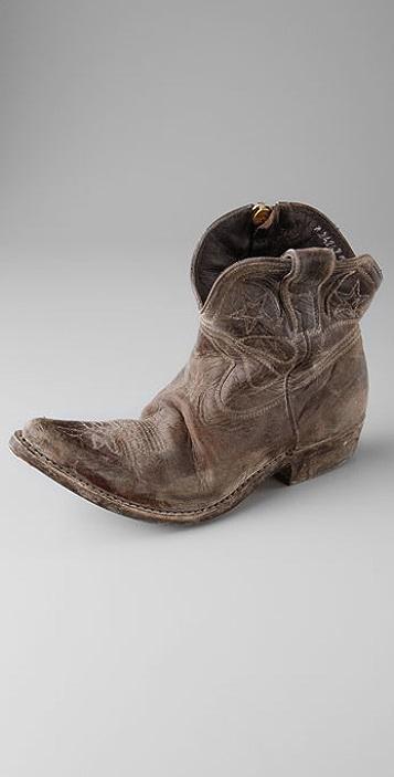 Golden Goose Distressed zipped western boots McPmL