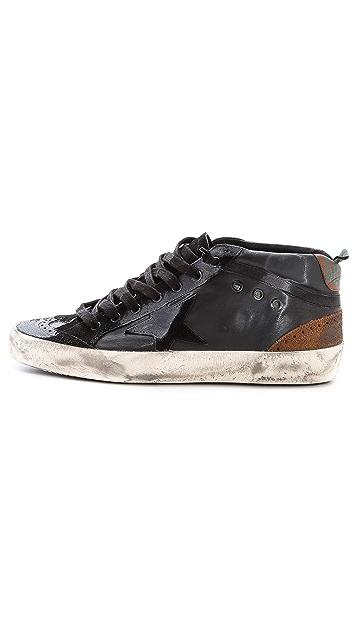 Golden Goose Mid/Star Sneakers