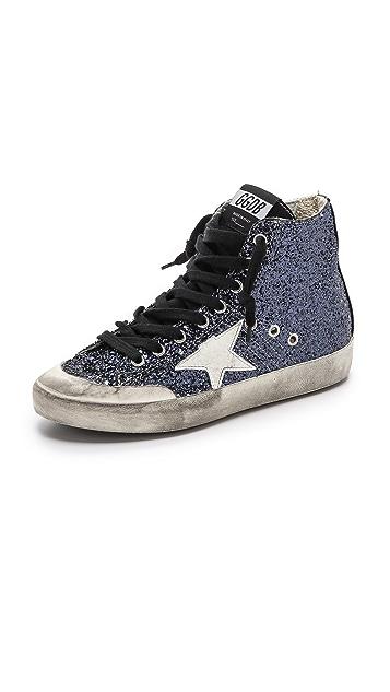 1864e3db4374 Golden Goose Francy Glitter High Top Sneakers   SHOPBOP