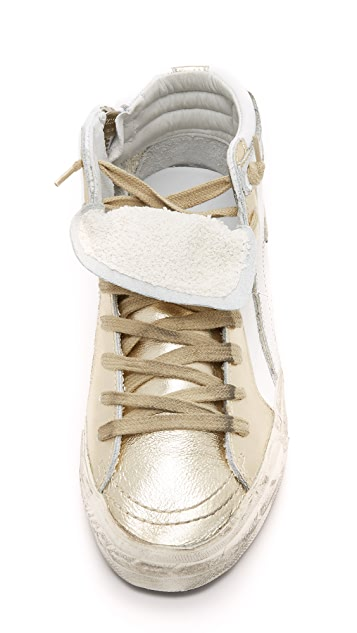 Golden Goose Slide High Top Sneakers