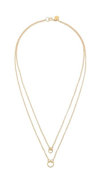 Gorjana Double Rope Necklace