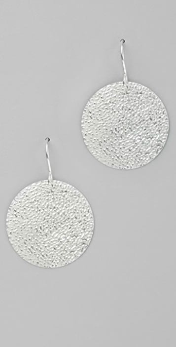 Gorjana Sun Hammered Earrings