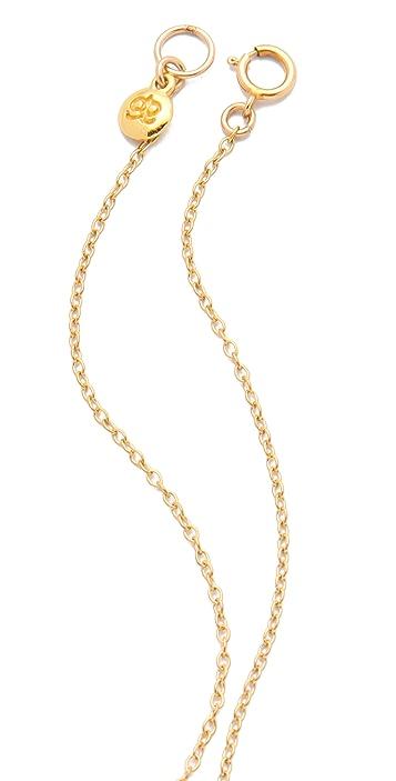 Gorjana Alphabet Charm Necklace