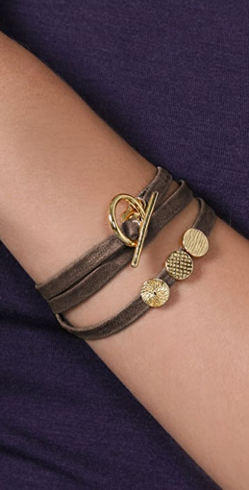 Gorjana Graham Bracelet with 3 Charms