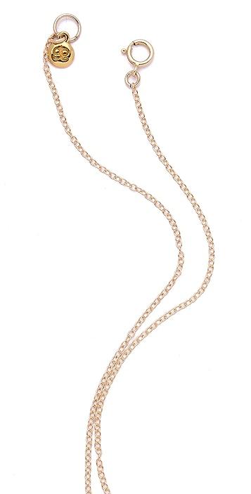 Gorjana Large Key Necklace