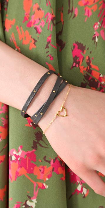 Gorjana Graham Wrap Bracelet with Studs