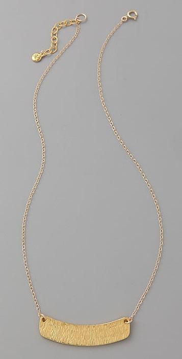 Gorjana Tusk Pendant Necklace