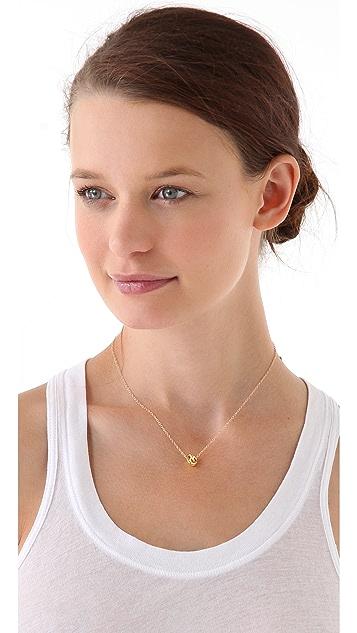 Gorjana Infinity Ring Necklace